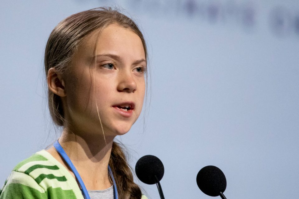 Greta Thunberg Attends COP25 Plenary Session In Madrid