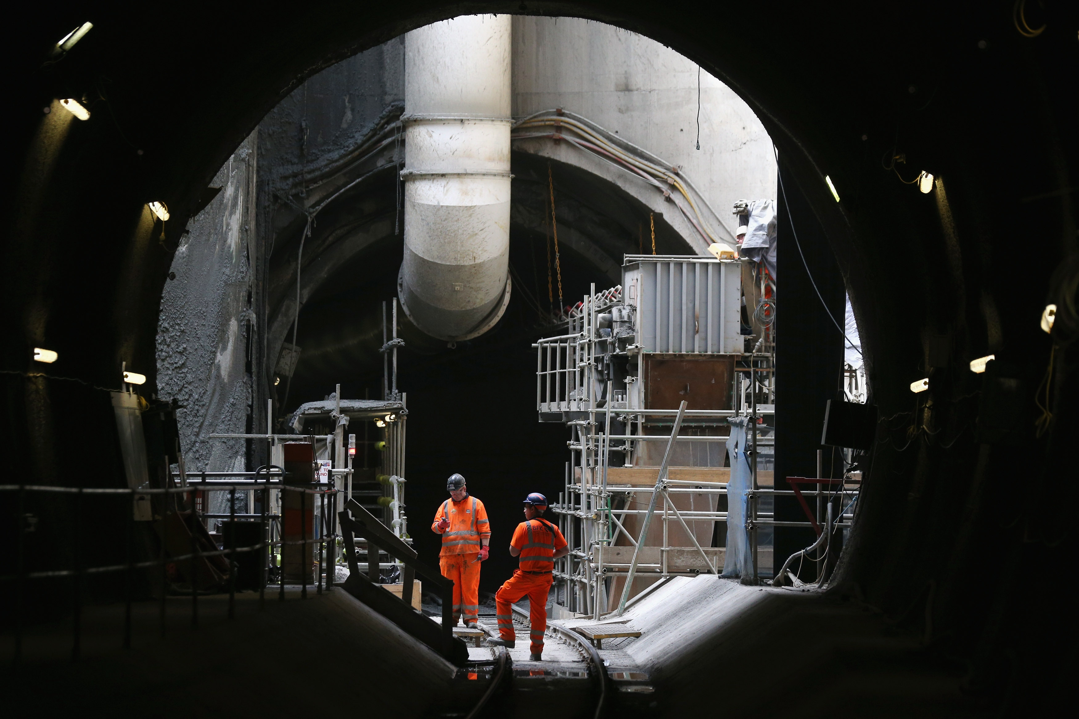 Work Continues On The Multi Million Pound Crossrail Project