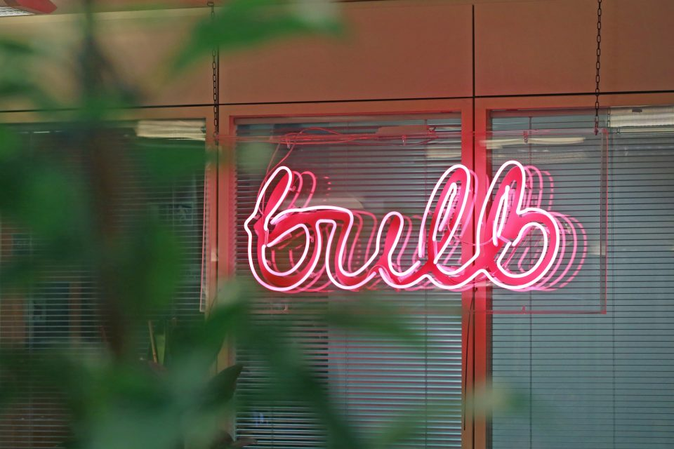 Bulb won the top spot on a list of the top 10 fastest growing UK scale-ups