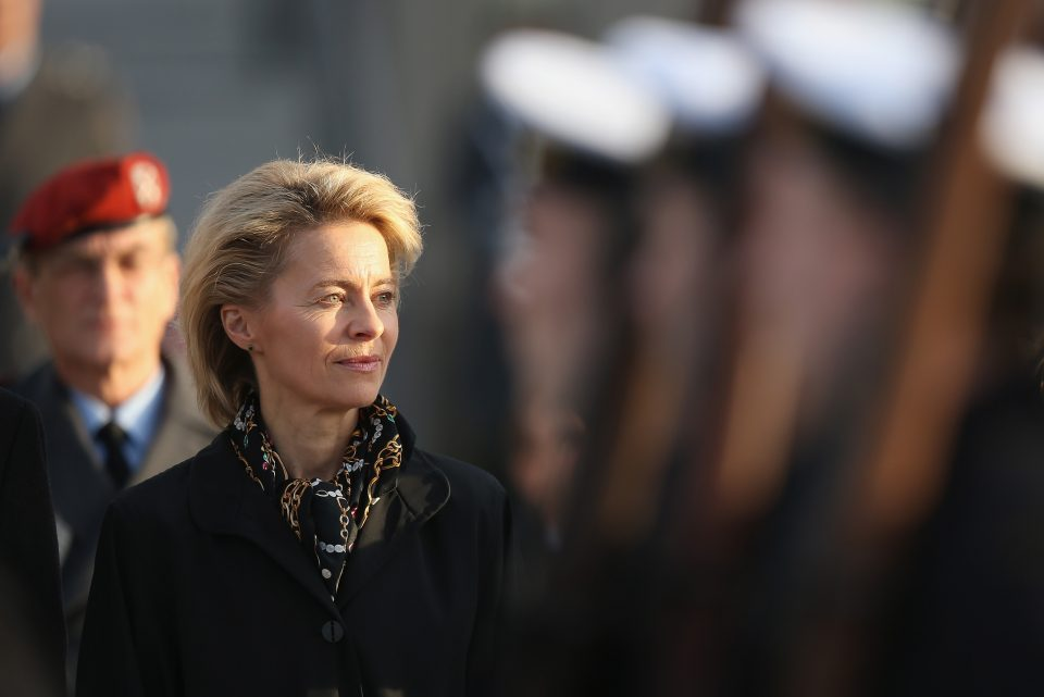 Von der Leyen said it may be sensible to take stock mid-way through next year