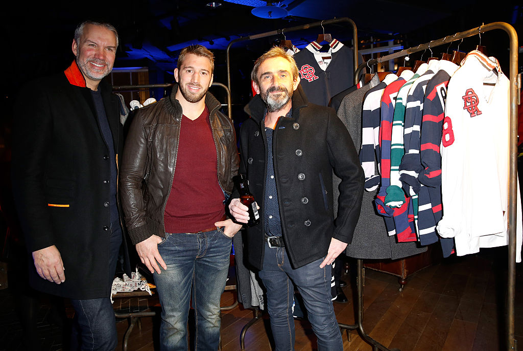 Saga's Euan Sutherland pictured on the left along with Superdry co-founder Julian Dunkerton (right)