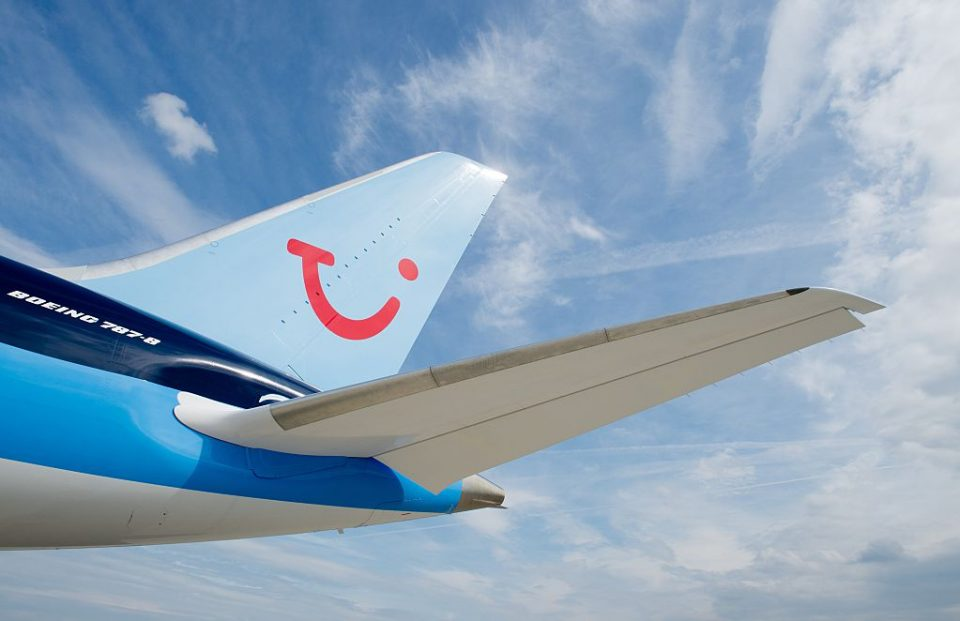 Tui has a fleet of 15 Boeing 737 Max jets