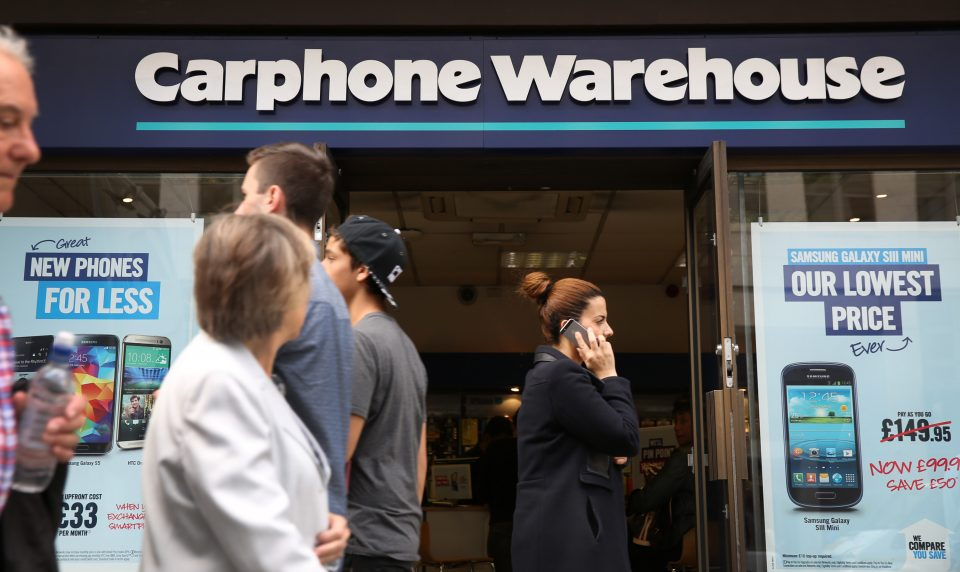 Dixons Carphone is shifting online to combat a drop in footfall to Carphone Warehouse stores