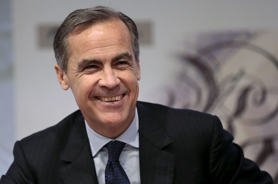 Mark Carney appointed UN climate envoy ahead of Bank of England exit
