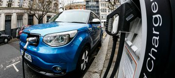Electric cars take record UK market share as battery-powered vehicle sales surge 228 per cent