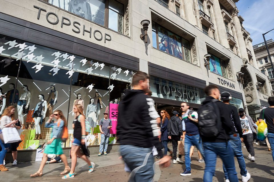 Topshop boss Sir Philip Green bags £310m loan for Oxford Street store