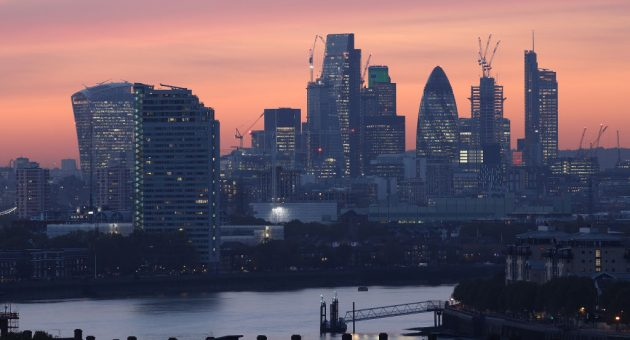 The City of London woke up to a Conservative majority today