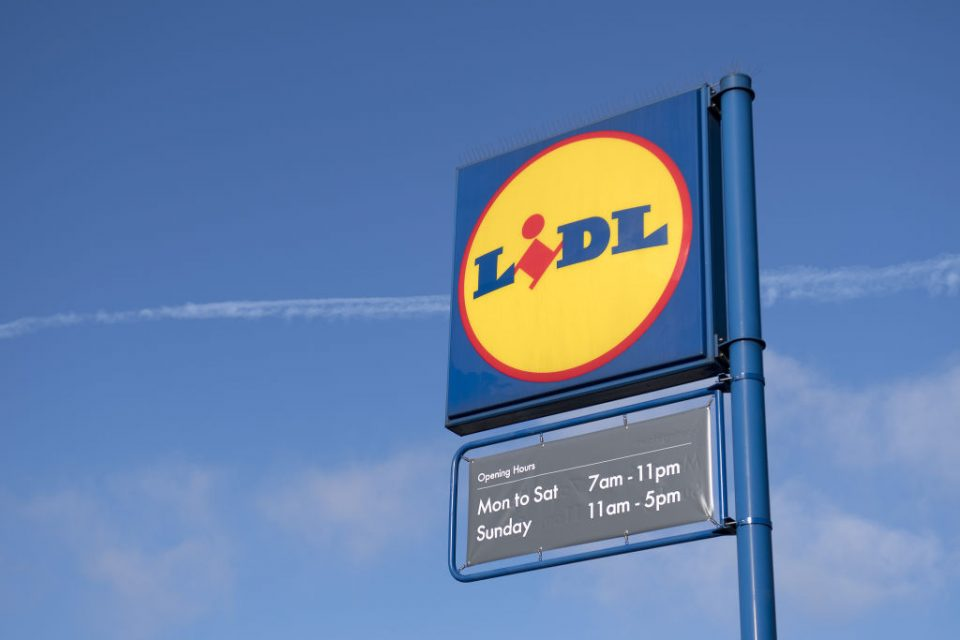 Kantar data shows Lidl boosted its supermarket sector stake to a record high