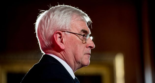 John McDonnell concedes antisemitism has hurt Labour's campaign