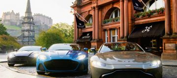 Live the life of an international man (or woman) of mystery with The Caledonian's Aston Martin driving experience
