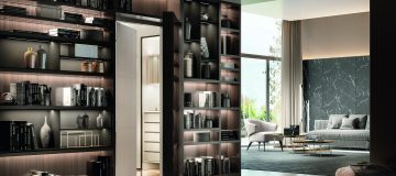 A panic room designed by Agresti.