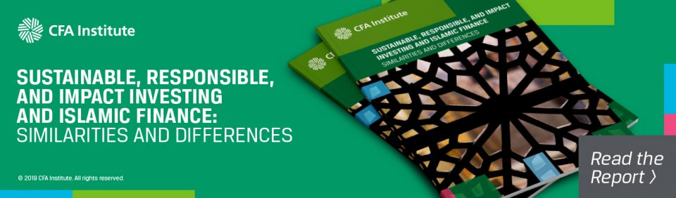 SRI and Islamic Finance report by CFA Institute