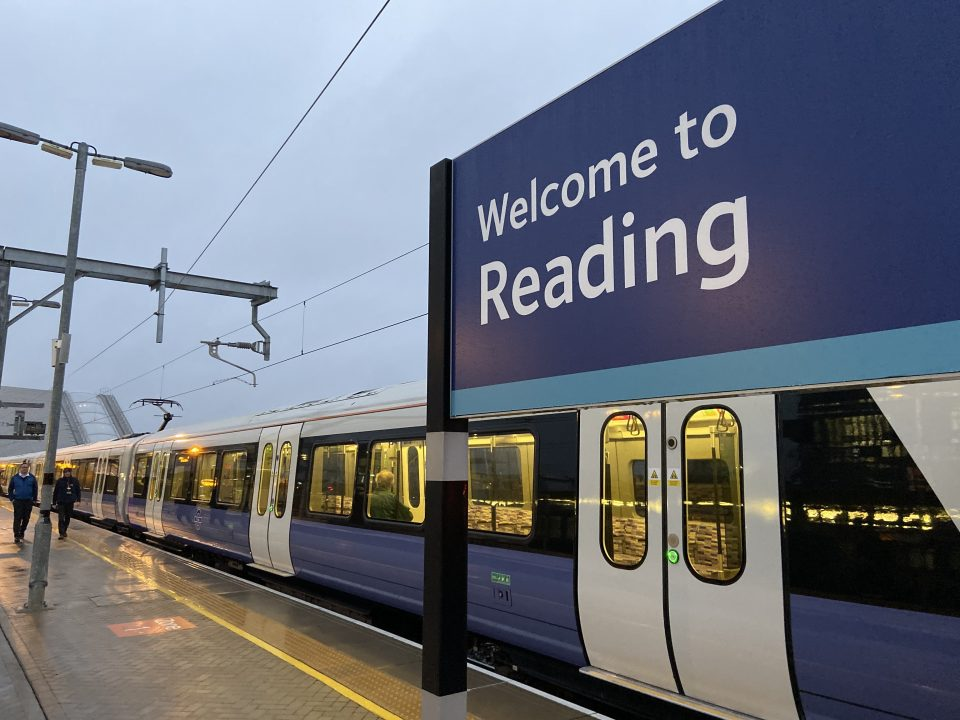 Crossrail opens from Reading to Paddington