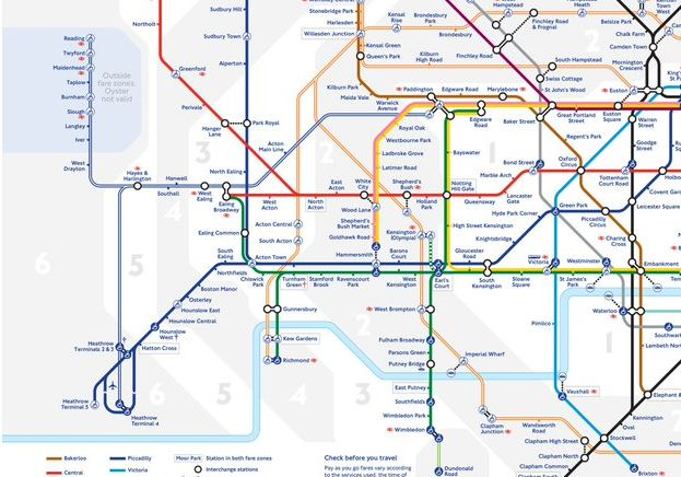 TfL updates Tube map to include Crossrail station for the first time