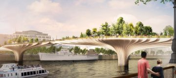 Garden Bridge (Source: Heatherwick Studio)