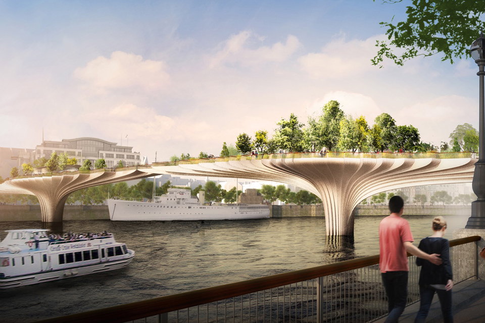 Transport department refuses to release Garden Bridge report