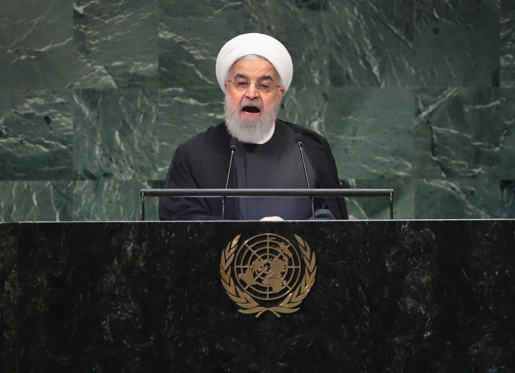 Iran plane crash: President of Iran Hassan Rouhani addresses the United Nations General Assembly