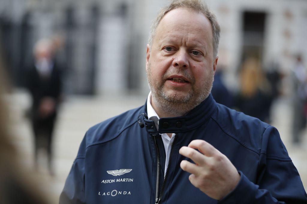Andy Palmer, Aston Martin's CEO