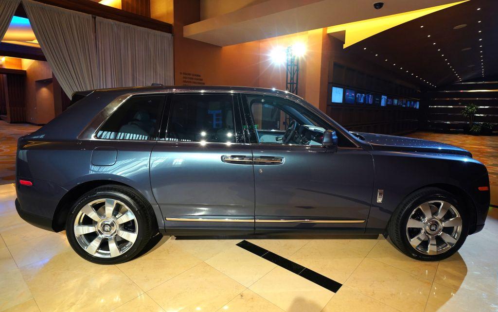 Rolls-Royce's Cullinan SUV model has driven a swift growth in sales