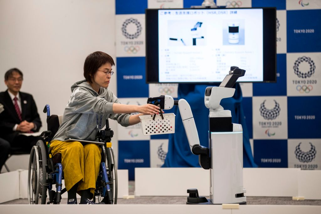 Toyota robot to be used at Tokyo 2020 Olympics