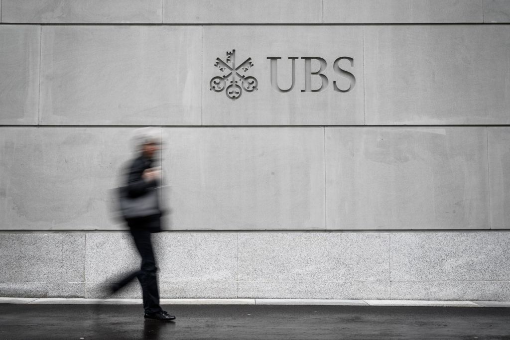 Profit at Swiss banking giant UBS fell five per cent for the full year, as the Zurich-headquartered bank missed its targets for 2019.