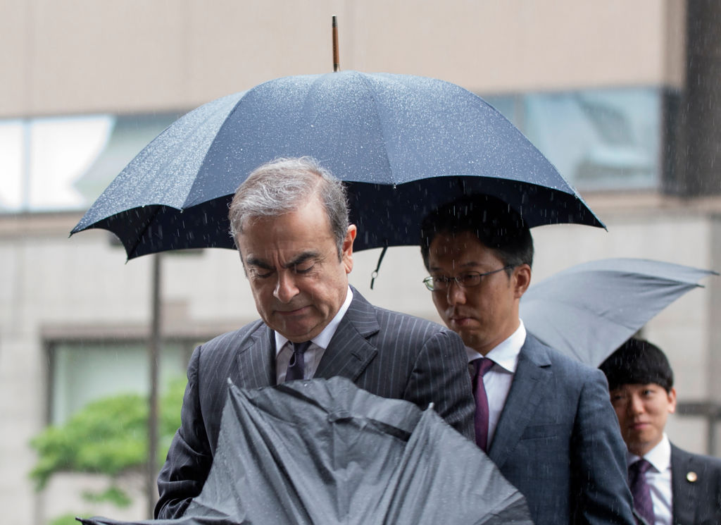 JAPAN-FRANCE-NISSAN-AUTOMOBILE-RENAULT-GHOSN