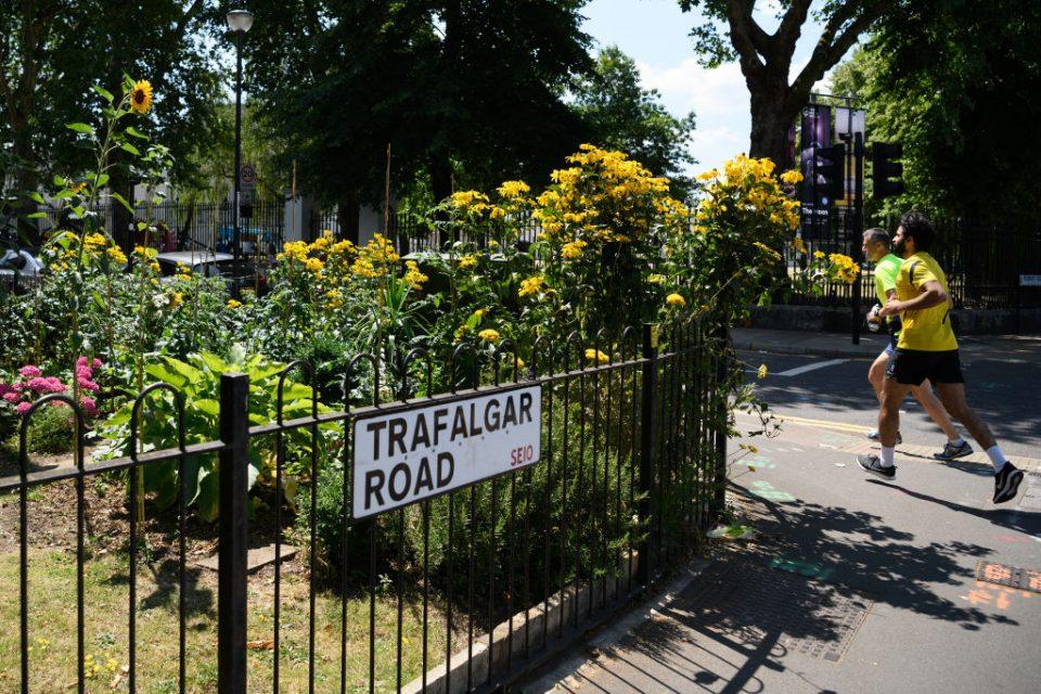 London parkrun pollution running