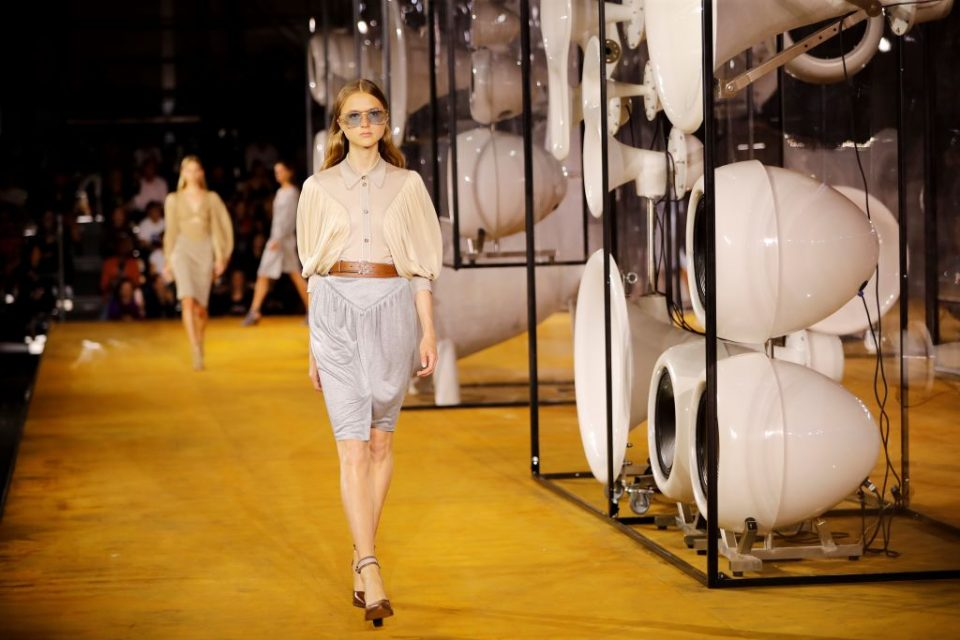 Designer brand Burberry this morning raised its guidance for the year after a quarter in which the luxury brand saw revenue rise three per cent.