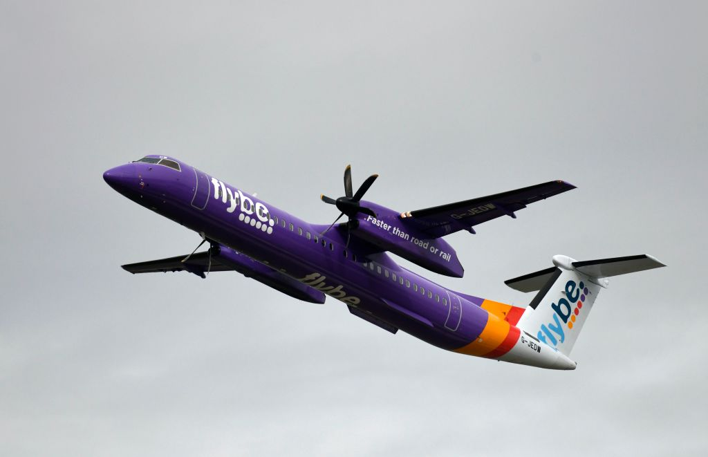 Flybe was rescued by the government earlier this week