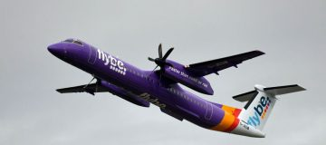 Flybe operates nearly 200 routes in Britain and Europe