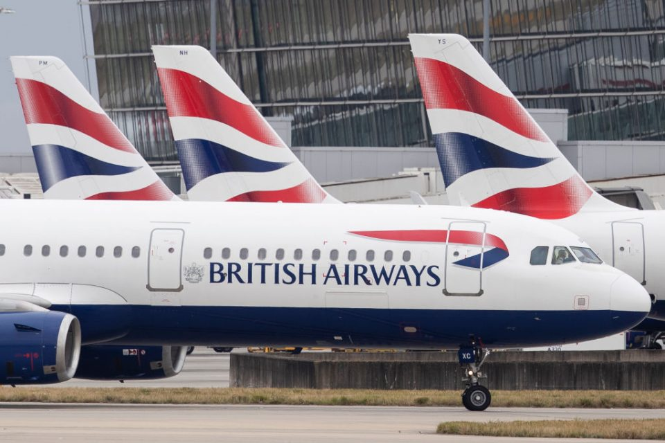 British Airways is the UK's flag carrier airline