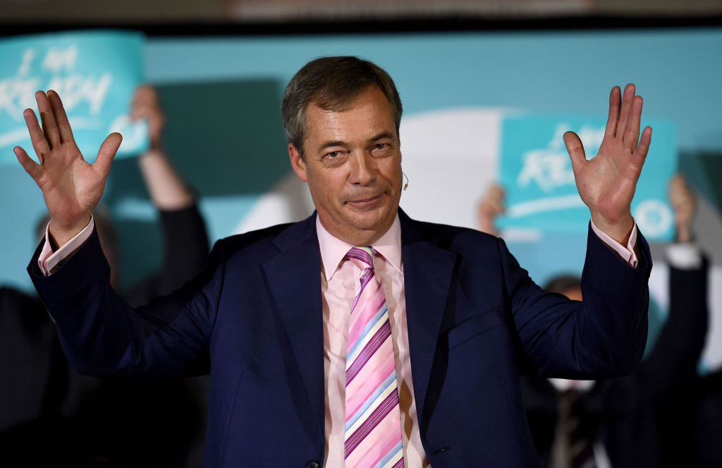 Nigel Farage's decades-long dream will finally transpire on Brexit Day
