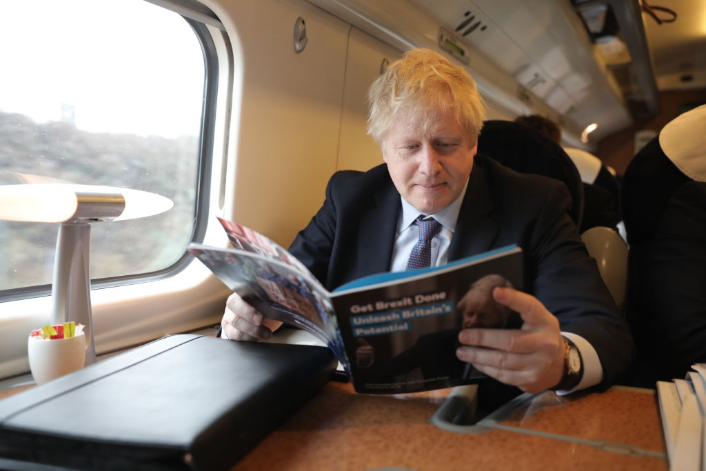 Boris Johnson's government is yet to formally decide whether to go ahead with the project