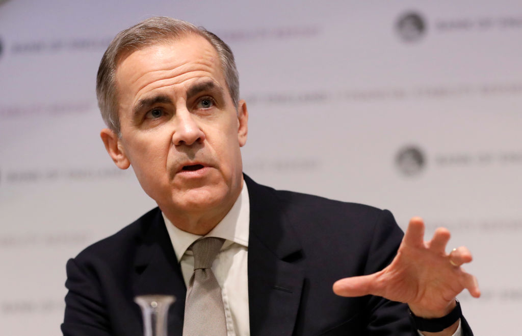 Bank Of England Issues Financial Stability Report