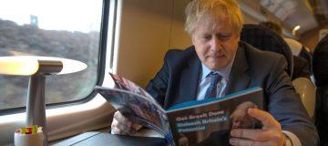 Boris Johnson faces a stark decision on the future of the HS2 rail line