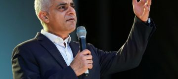 London Mayor Sadiq Khan Celebrates Hanukkah With London's Jewish Community