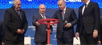 Putin and Erdogan launch Turkstream oil pipeline