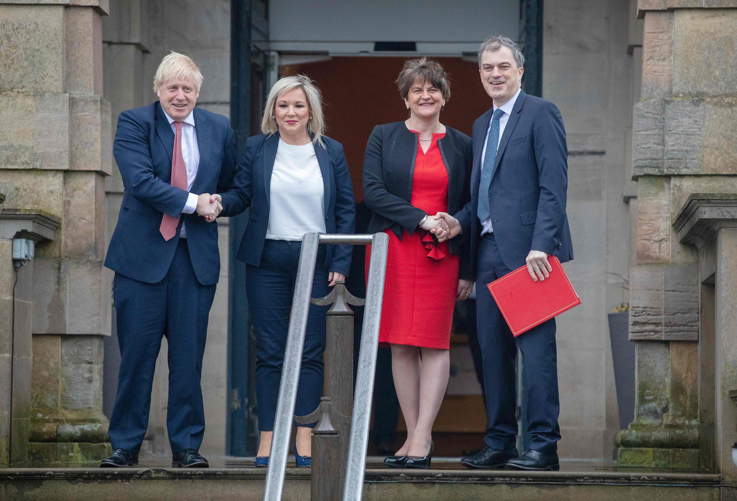 BRITAIN-NIRELAND-IRELAND-POLITICS-DIPLOMACY