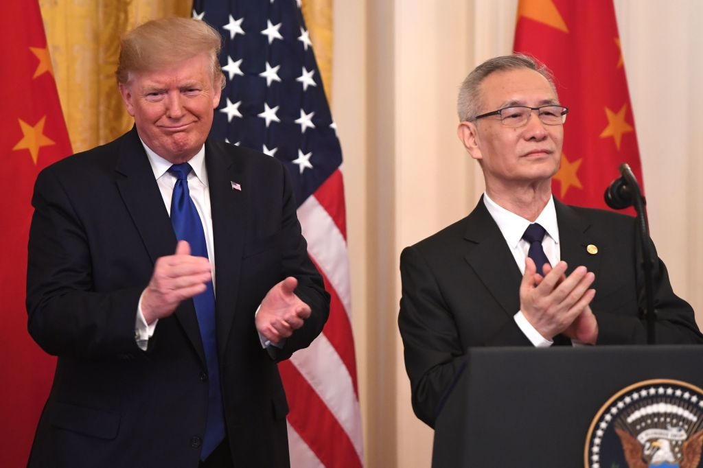 US and China sign long-awaited 'phase one' trade deal