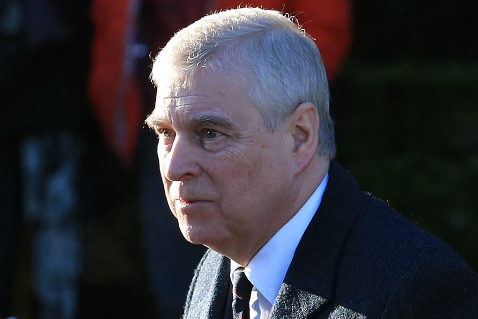FBI reportedly wants to interview Prince Andrew about Jeffrey Epstein