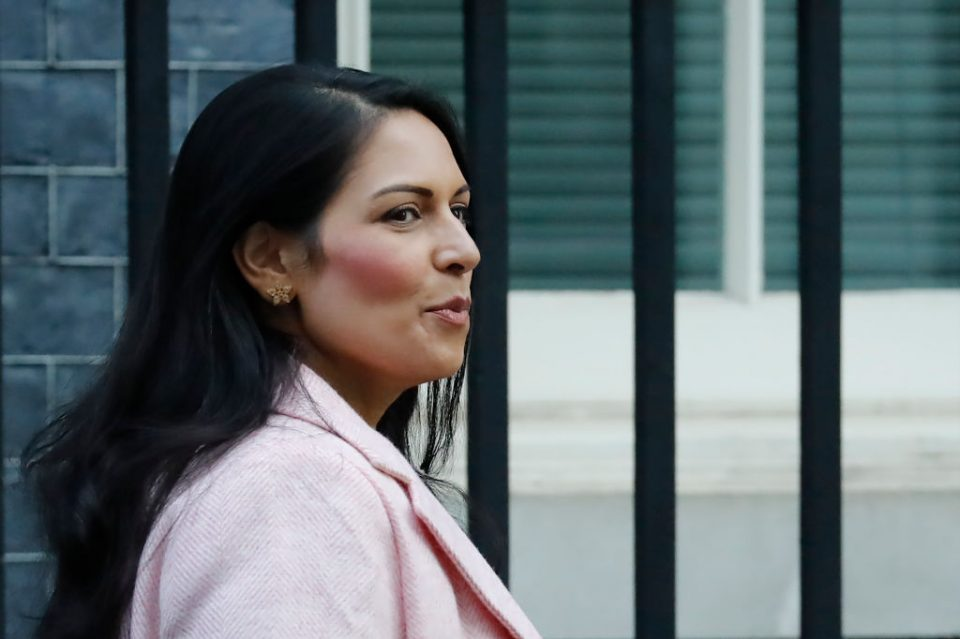 Priti Patel: British businesses too reliant on 'cheap labour' from the EU