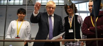 The Prime Minister Visits Central London School