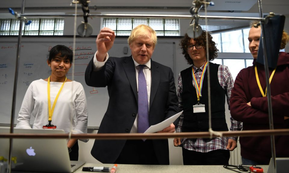 Boris Johnson pledges 'progress for UK' as Huawei decision looms - CityAM