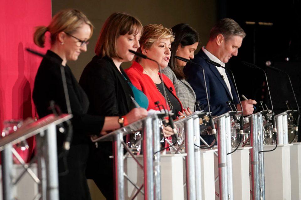 Labour leadership rivals clash over antisemitism - CityAM