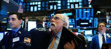 US stocks open in red amid coronavirus fears