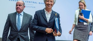 ECB launches major policy review as it holds rates