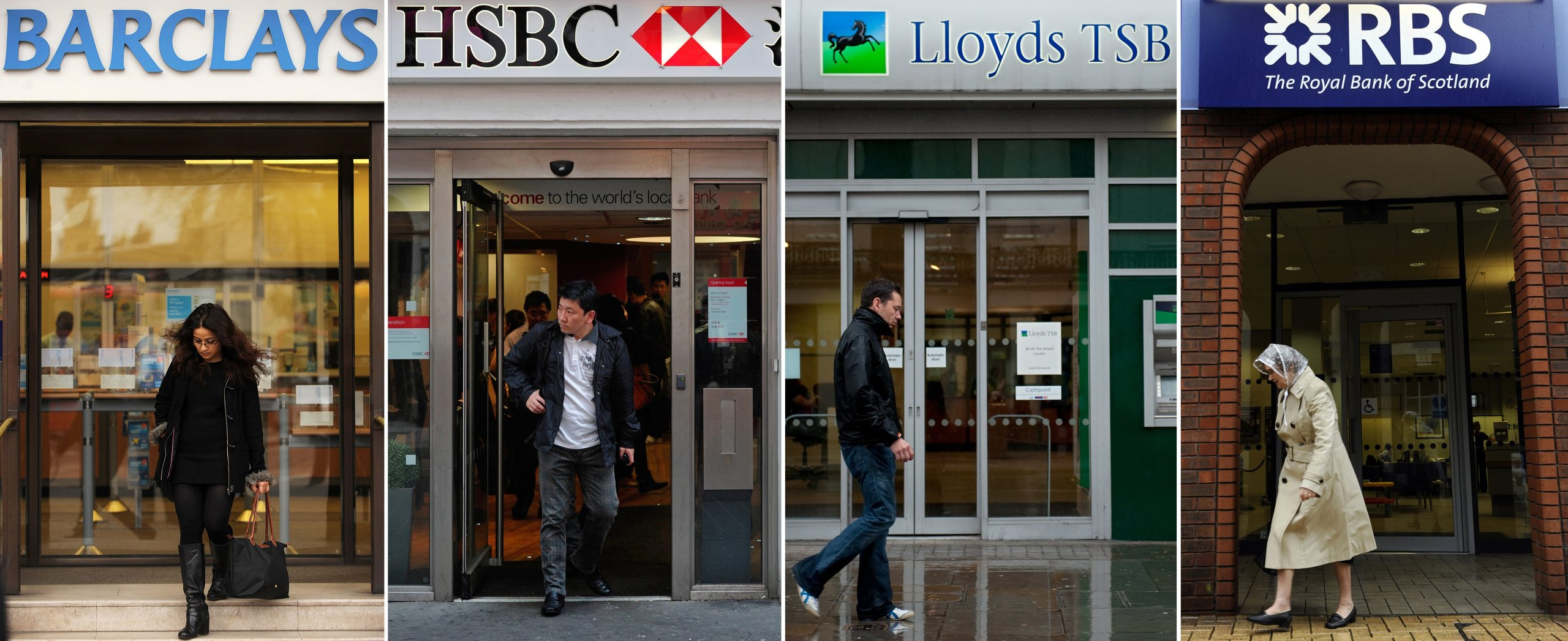 UK bank shares rise on lockdown optimism