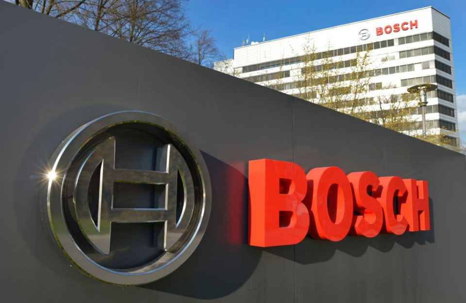 Bosch is the world's biggest automotive supplier