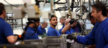 UK factory optimism hits six-year high after election