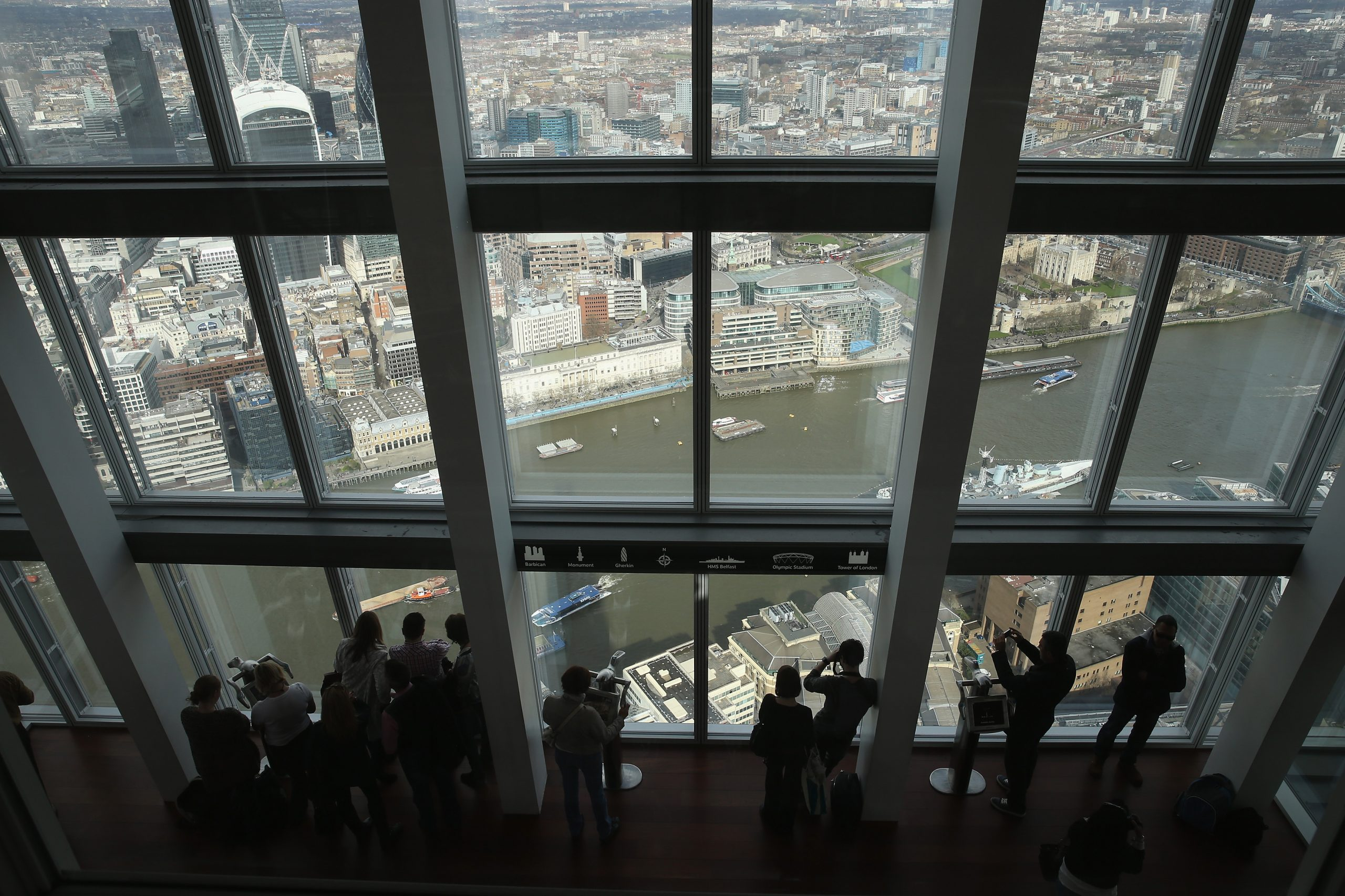 Central London Viewed From The Shard